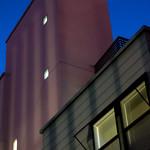 Evening Building Juxtaposition