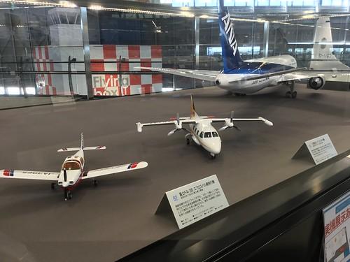 あいち航空ミュージアム 名機百選 MU-2 B767 FA200 模型 AA1A0C7B-96BF-44EE-BFD4-09B57A0AD66F