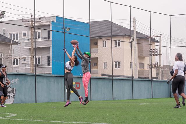 Shitsuke Flag Football All Women's Game