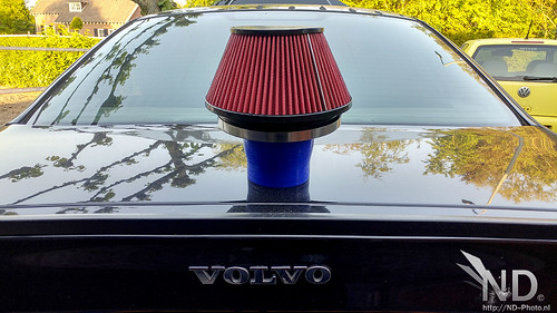 Volvo S80 2.4T Fitting a Velocity Stack Open Cone Filter | by ND-Photo.nl