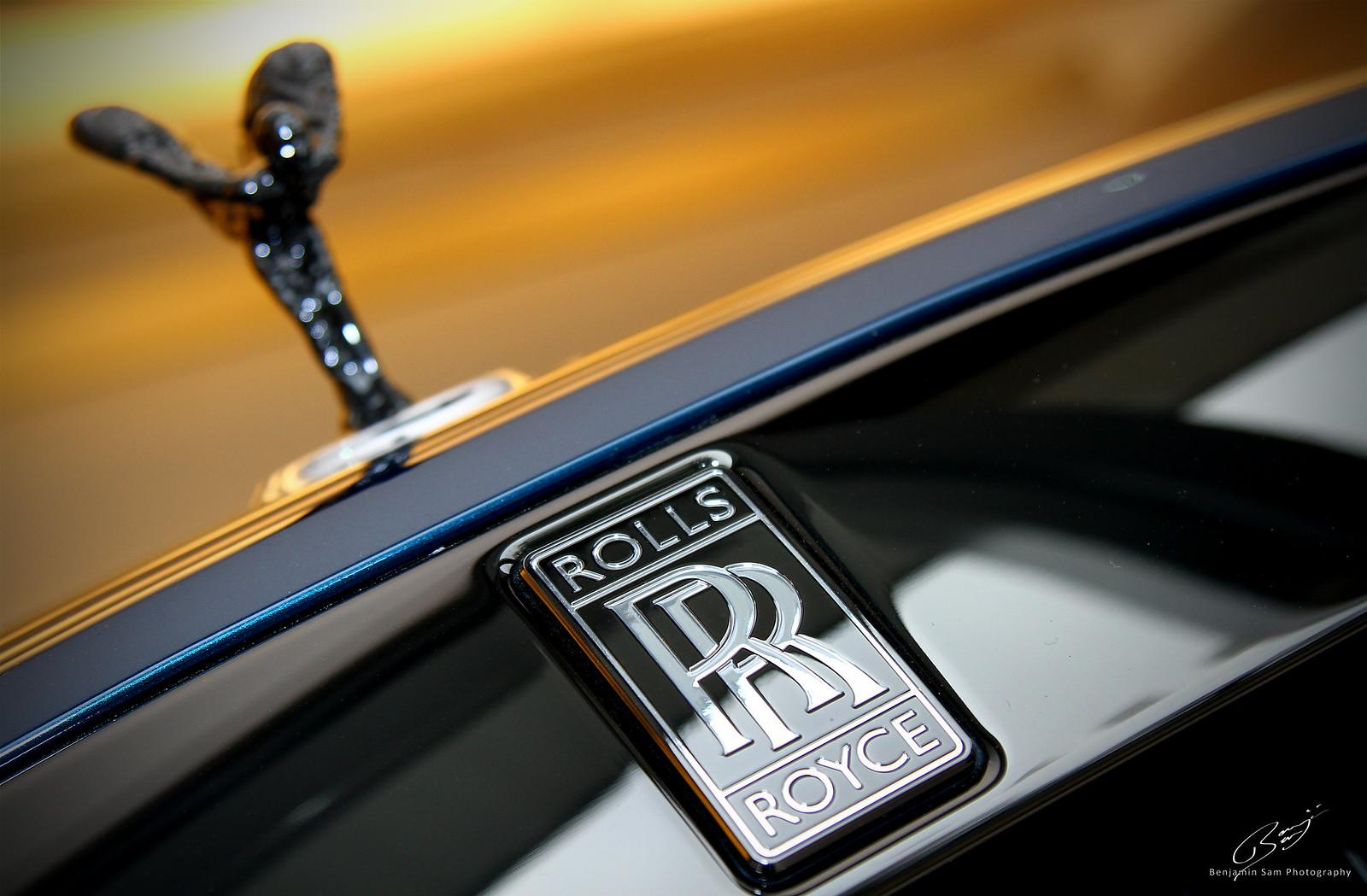 Rolls Royce Wraith Grille