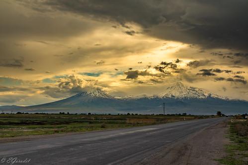 spring ararat landscape armenia travel mountain araratprovince am