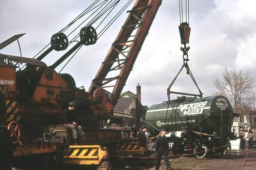 steam crane in operation GCR