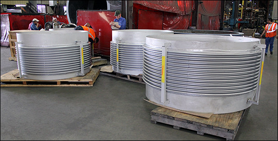 Custom Designed Single Expansion Joints for a Pipeline in China