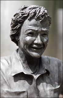 'Modern Art' Statue Detail