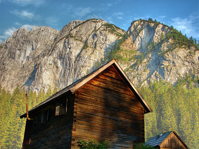 mountain huts