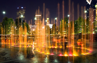 Centennial Olympic Park [on a mid-summer's night] | by brookenovak