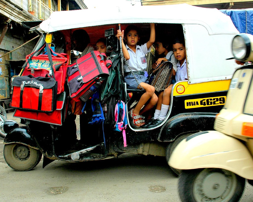 The Indian School Bus The Multifaceted Auto Rickshaw Flickr