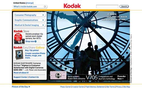 Kodak Website