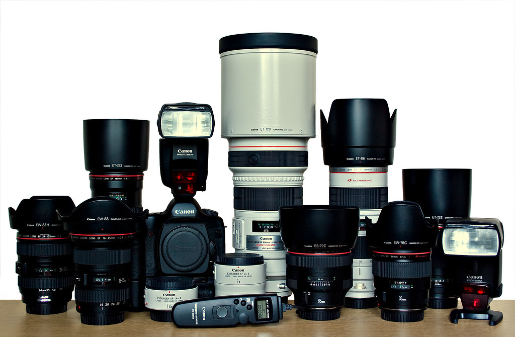 Image: My Canon EOS Rig (21/06/2008)