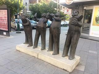 201705 - Balkans - Jazz Players Statue - 65 of 66 - Skopje - Skopje, May 31, 2017   by mrflip
