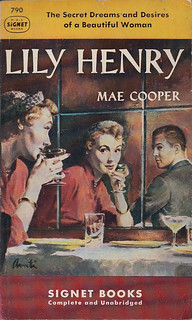 Mae Cooper - Lily Henry (1950, Signet Books #790, cover art by James Avati)
