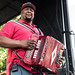 Keith Frank and the Soileau Zydeco Band at the Breaux Bridge Crawfish Festival May 5, 2018