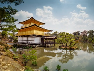 Kinkaku-ji Buddhist Temple - Fisheye | by AMcUK