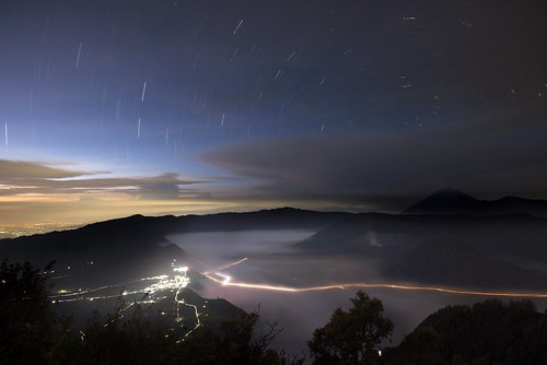 Mt. Bromo startrail | by Juan Filas
