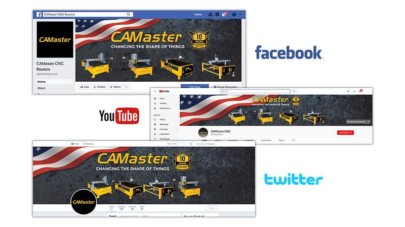 CAMaster Social Media Branding