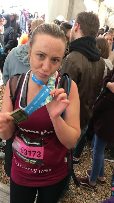 Kate McAuley, Brighton Marathon