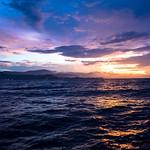 Sunset over Dili, Timor-Leste