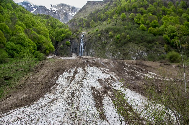 En remontant l'Estours (Seix/Ariège)