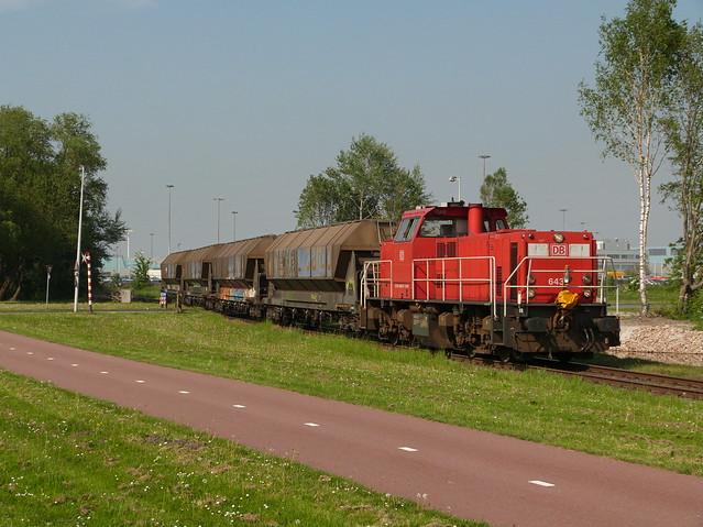 DB Cargo 6433, Hornweg