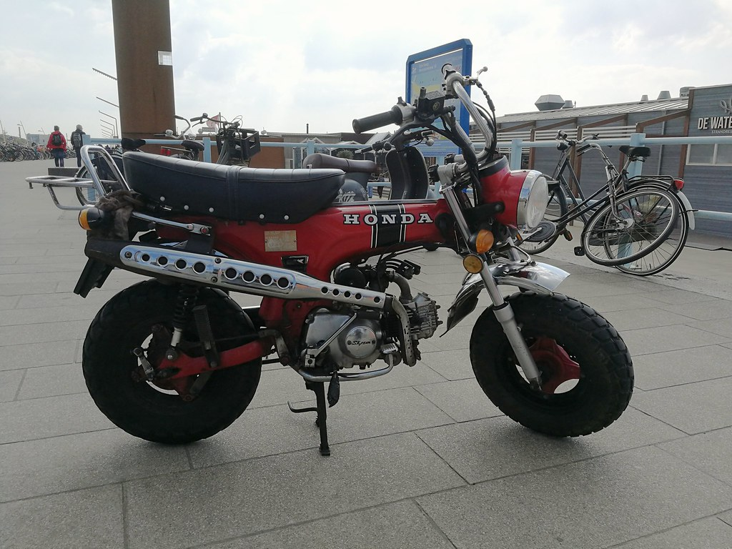 Skyteam DX50, a wanna-be Honda CT70 Mini-Trail | Skitmeister