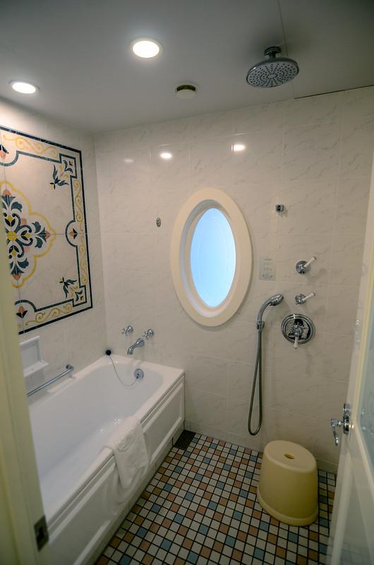 Tokyo Disneyland Hotel room shower