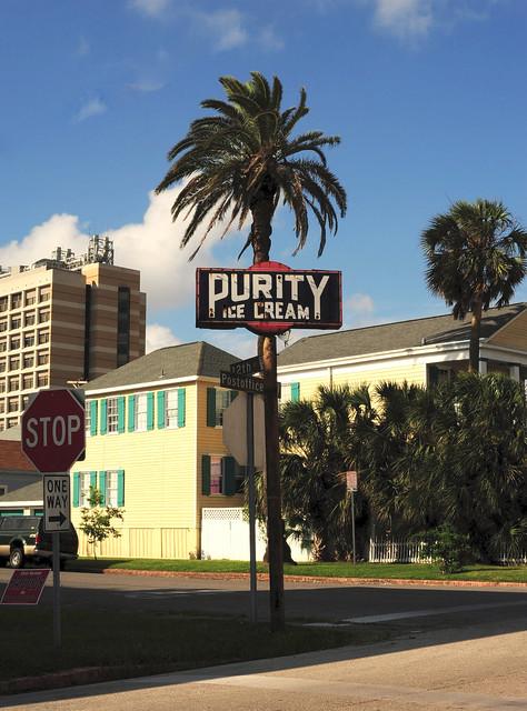 Purity Ice Cream - Galveston,Texas