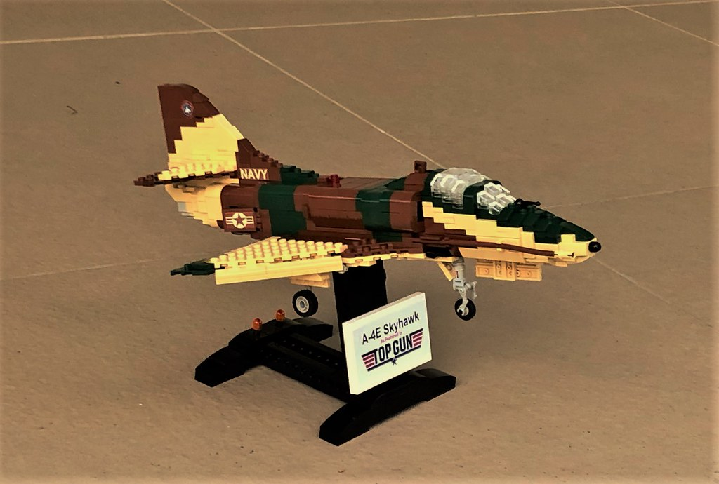 Lego A4E Skyhawk | Third jet in my Top Gun Series  Douglas A
