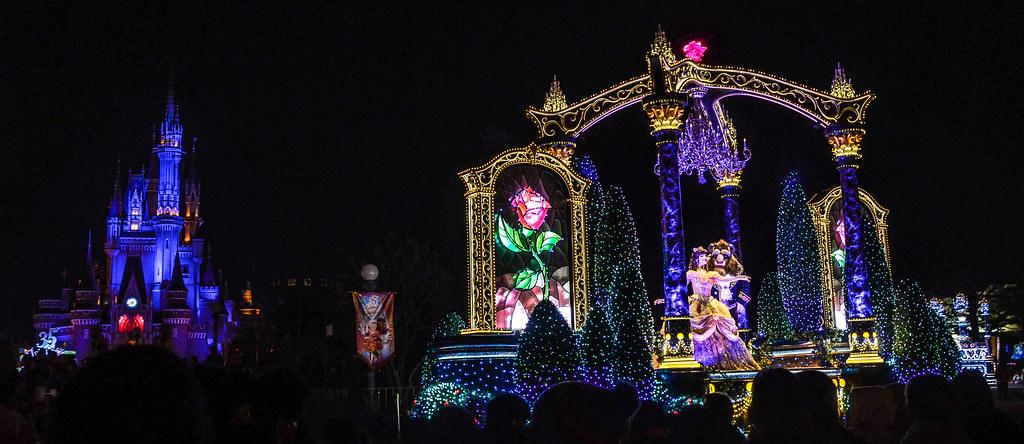 BatB with castle Dreamlights TDL