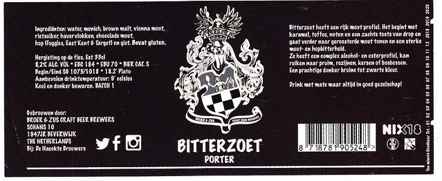 Netherlands - Broer & Zus Craft Beer Brewers (Beverwijk)