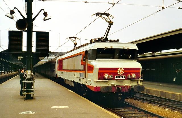 Paris-Gare-de-Lyon, SNCF CC 21003