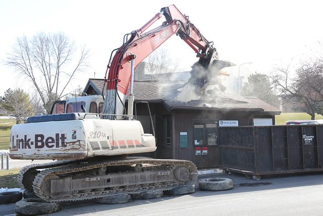 Parking Hut Demolition