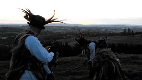 Dance Up The Sun, Beltane at Wedgwood's Monument, Staffordshire