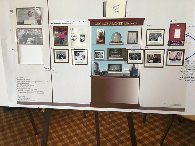 Design development for George Archer Display