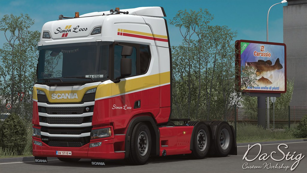 Holland And Holland >> Scania R500 - Simon Loos | Waiting for a new cargo for ...