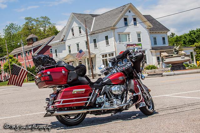 2008 Harley- Davidson Ultra Classic | Dewey's Ice Cream Parlor & Cafe | Center Harbor, New Hampshire