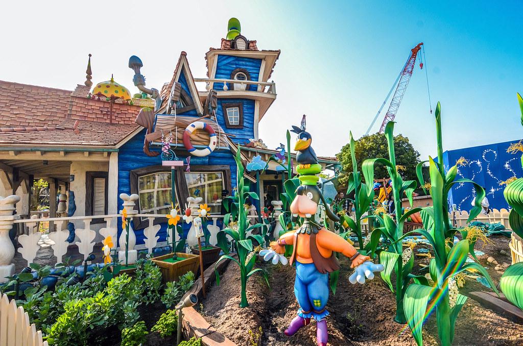 Goofy's Garden toontown TDL