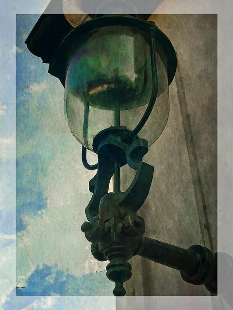 one old lantern