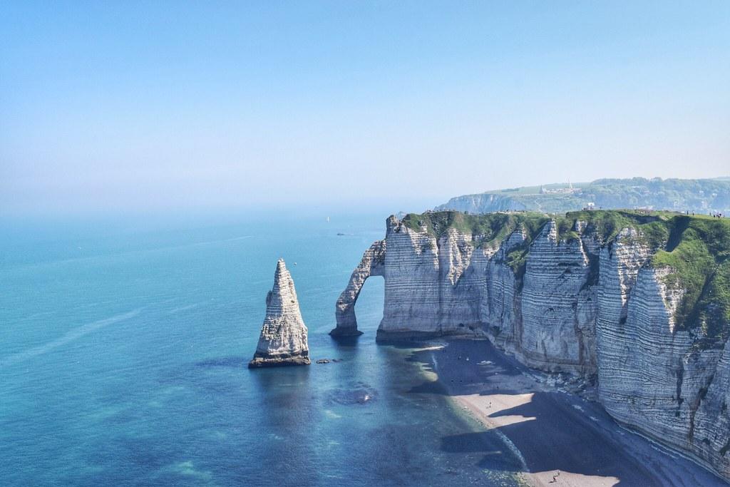 Falaise D Etretat Normandie Manuela Poret Flickr