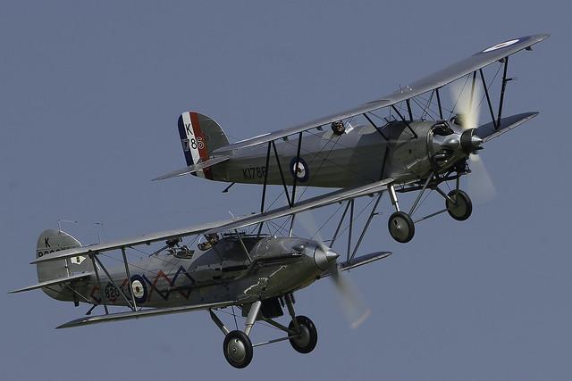 Hawker Demon & Hawker Tomtit
