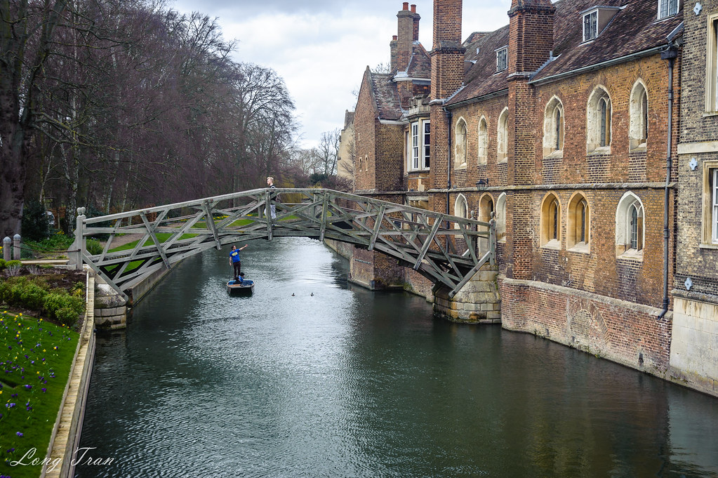 Mathematical Bridge, Cambridge, UK