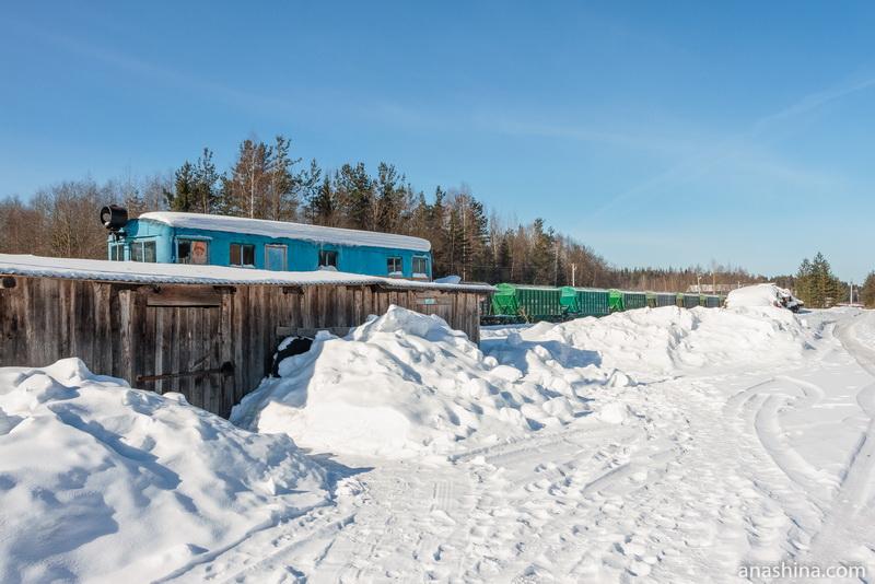 Железнодорожная станция Солигалич Монзенской железной дороги