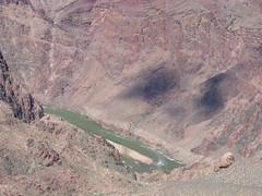 Grand Canyon - South Kaibab Trail, at Skeleton Point, Colorado River