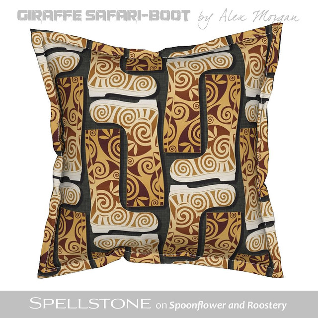 Boot Zoo Giraffe Safari Boot
