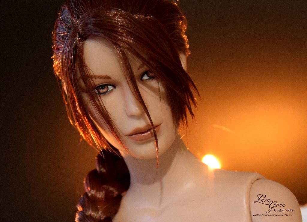 Lara Croft nude Tonner doll_Promo Tomb Raider III