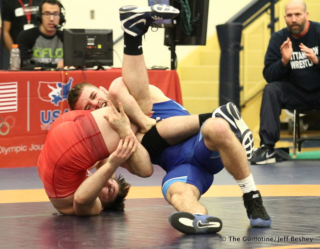 70 kg/154 lbs.- Brady Berge (Nittany Lion WC) vs. Austin O'Connor (Tar Heel WC). 180519BJF0249