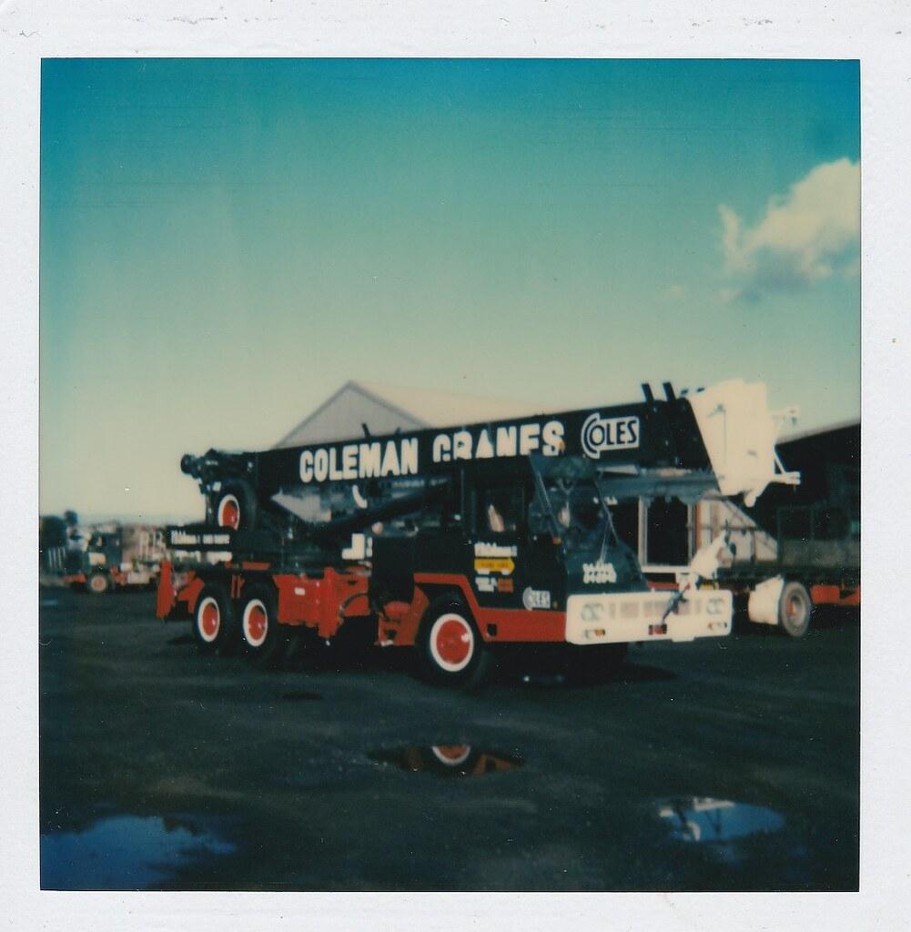 P.B. Coleman's Coles A25T crane