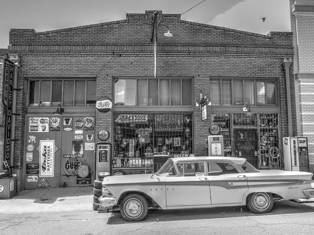 Historic downtown @ Lowell, Arizona
