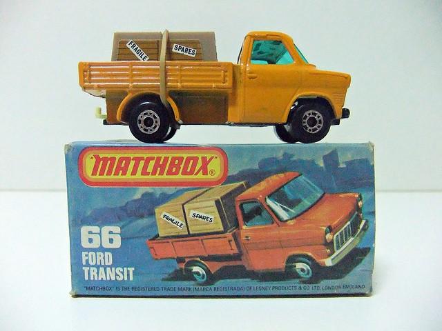 FORD TRANSIT PICK-UP Nº 66 - MATCHBOX