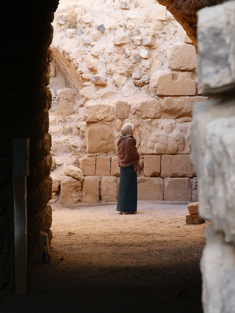 Jordan Kerak crusader castle